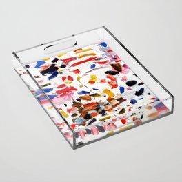 Abstract Painting #2 Acrylic Tray