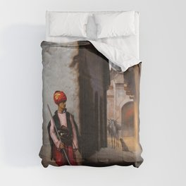Jean-Leon Gerome - The Guard - Digital Remastered Edition Comforters