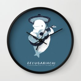 belugariachi Wall Clock