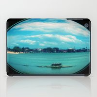 relax iPad Cases featuring Relax by Amanda Cardim