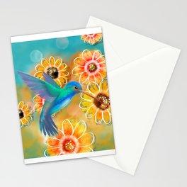 Hummingbird Bounty Stationery Cards