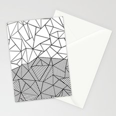 Ab Half n Half Stationery Cards