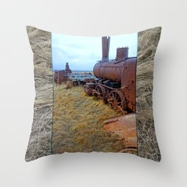 Galloper Throw Pillow