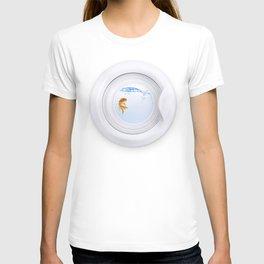 (Very) Clean Goldfish T-shirt