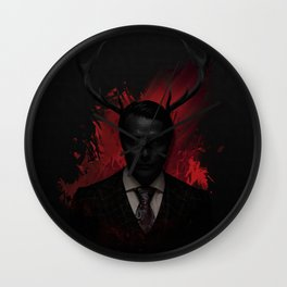 Hannibal Wendigo Wall Clock