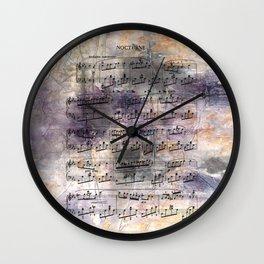 Chopin - Nocturne Wall Clock