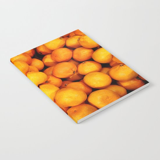 Mandarin, tangerine Notebook