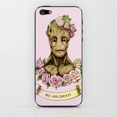 We Are Groot iPhone & iPod Skin