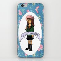 daria iPhone & iPod Skins featuring Daria by Aliyahtakespictures