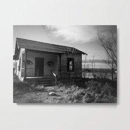 abandoned, kent texas Metal Print