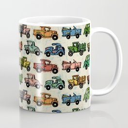 Old Timey Cars Coffee Mug