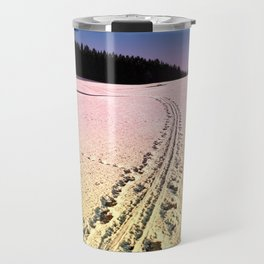 Cross country skiing | Winter wonderland | Landscape photography Travel Mug