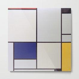 Piet Mondrian - Tableau I Metal Print