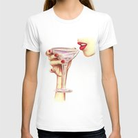 champagne T-shirts featuring Champagne  by SR Illustration & Design