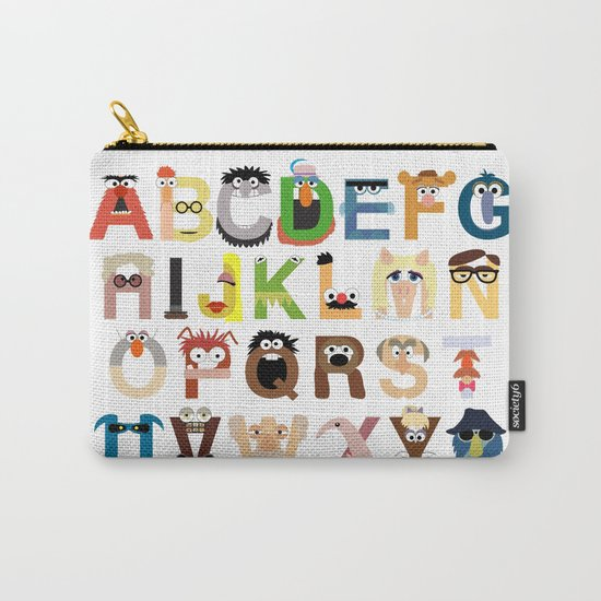Muppet Alphabet Carry-All Pouch