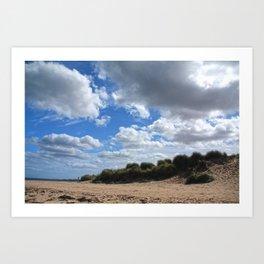 The Scottish Skies Art Print