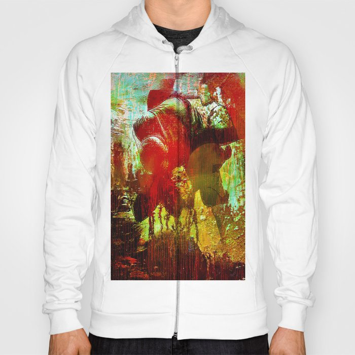 Abstract body Hoody