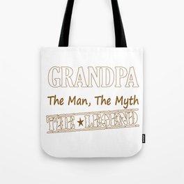 Grandpa The Legend Tote Bag