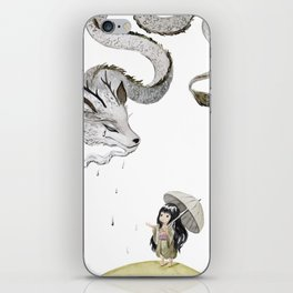 Water Dragon iPhone Skin