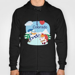 Ernest and Coraline | I love Colorado Hoody