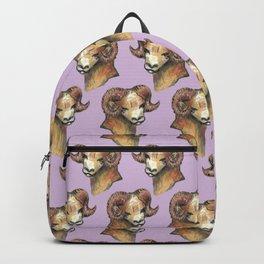 aries pattern zodiac Backpack