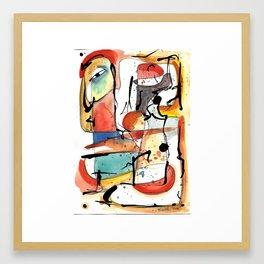 Genio Framed Art Print