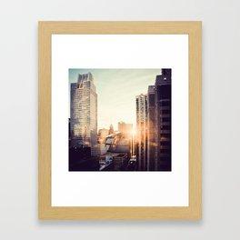 Chicago Life Framed Art Print