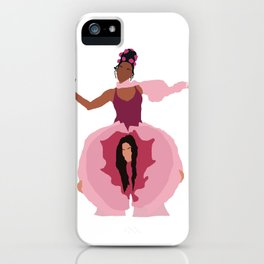 Pynk Minimalist: Janelle Monae & Tessa Thompson iPhone Case