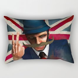 The bollocks Rectangular Pillow
