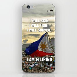 Survive Filipino iPhone Skin