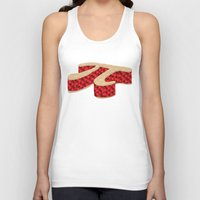 pi Tank Tops featuring Pi Pie by Rryan