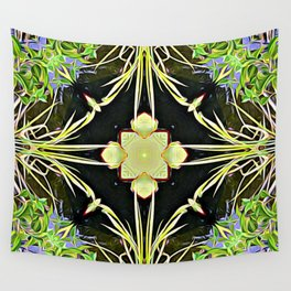 Diamond Centered Patience Wall Tapestry