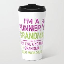 RUNNER GRANDMA Travel Mug