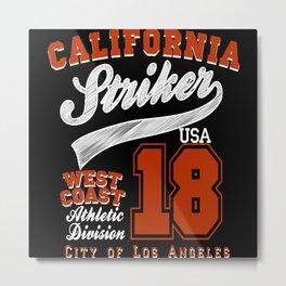 California Striker Metal Print