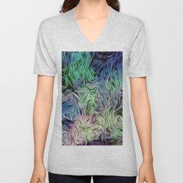 Turquoise Of Pastel Unisex V-Neck