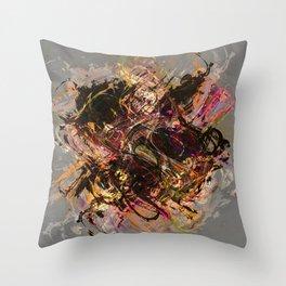 Abstract Digital Art Throw Pillow