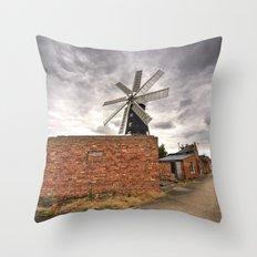 Heckington Mill Throw Pillow