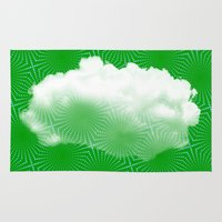 cloud Area & Throw Rugs featuring Cloud by Mr and Mrs Quirynen
