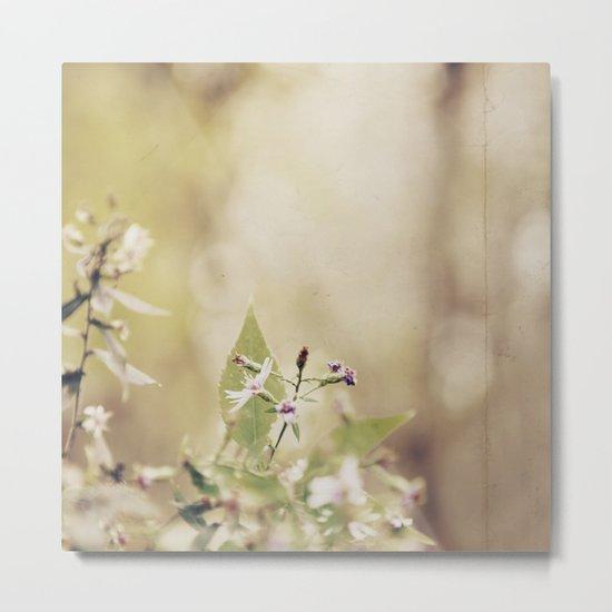The Last Wild Flower Metal Print