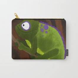 Climbing Chameleon Carry-All Pouch