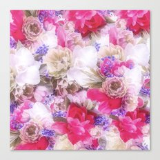 The flowers from my garden Canvas Print
