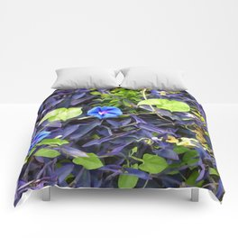 Floral Print 048 Comforters