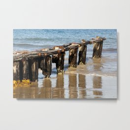Sea Power Metal Print