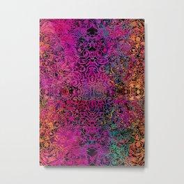 magic mandala 44 #magic #mandala #decor Metal Print