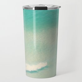beach summer waves Travel Mug