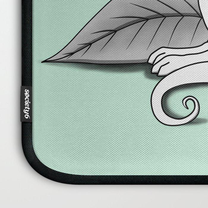 Poisonous Dragon-Teal Palette Laptop Sleeve