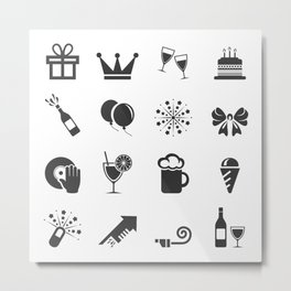 Holiday an icon Metal Print