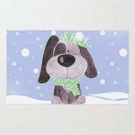 Funny puppy.2 Rug