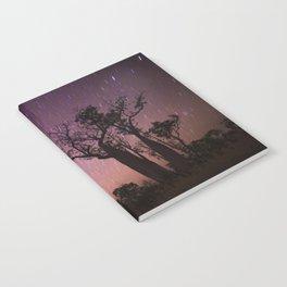 Raining Stars on Boabs Notebook