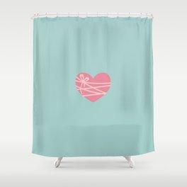 Heartstrings Shower Curtain